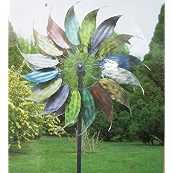 Scenic Amazoncom  Metal Wind Garden Art Feathered Leaves Design   With Exciting This Item Metal Wind Garden Art Feathered Leaves Design  High Kinetic  Windmill  With Enchanting Dobbies Garden Centre Plc Also Garden Bin Hire In Addition Garden Fence Design And How To Improve Clay Soil For Vegetable Garden As Well As Childrens Wooden Garden Play Equipment Additionally Fish Restaurants Covent Garden From Amazoncom With   Exciting Amazoncom  Metal Wind Garden Art Feathered Leaves Design   With Enchanting This Item Metal Wind Garden Art Feathered Leaves Design  High Kinetic  Windmill  And Scenic Dobbies Garden Centre Plc Also Garden Bin Hire In Addition Garden Fence Design From Amazoncom