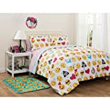 Emoji Pals Reversible Bed in a Bag Comforter Set Emoji Pals Reversible Bed in a Bag Comforter Set (Twin/Twin XL)