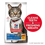 Hill's Science Diet Dry Cat Food, Adult, Oral Care, Chicken Recipe, 7 lb Bag