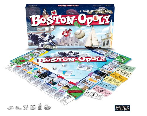 Late for the Sky Boston-opoly (Boston Copley Place)
