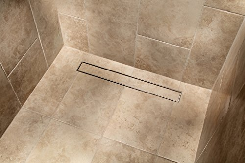MSLD-TI40 40-in Linear Shower Drain with Tile Insert by magnus sinks