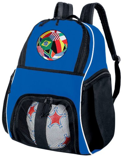 Soccer Ball Backpack World Cup Fan Volleyball Bag Travel Practice