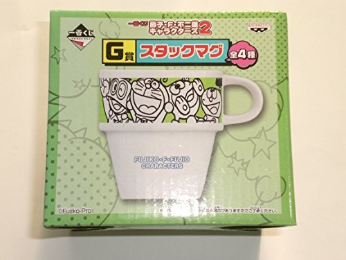 Most lottery Fujiko ? F ? Fujio Characters 2 G Award stack mug All-Star single item cup mug Doraemon Perman Kiteretsu Daihyakka BANPRESTO Banpresto