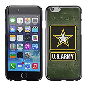 CaseCaptain Carcasa Funda Case - Apple Iphone 6 / US Army Military /