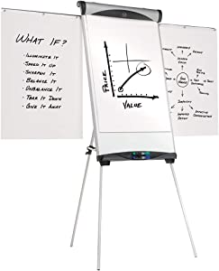 Quartet EU500E Euro Magnetic Presentation Easel, 27 x 39, White