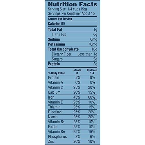 51KeA pP0BL - Gerber Single-Grain Oatmeal Baby Cereal, 8 Ounces (Pack Of 6)