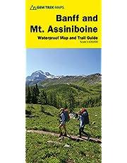 Banff and Mount Assiniboine Map | Gem Trek Maps