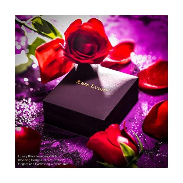 Kate Lynn, Nirvana di Fenice Bracciale, Design Originale Simboleggia Fortuna e Rinnovamento, Cristalli di Swarovski,Confezione Regalo Elegante 6