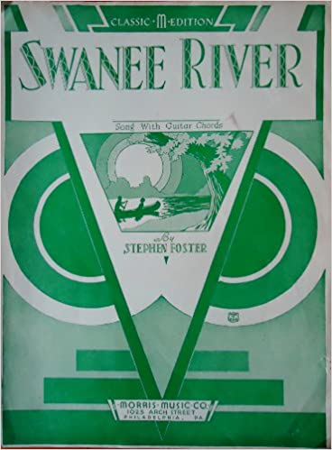 Amazon Swanee River Old Folks At Home Song With Guitar Chords