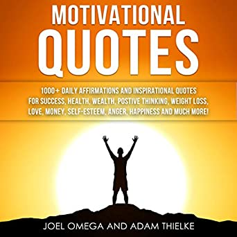 Amazoncom Motivational Quotes 1000 Daily Affirmations And