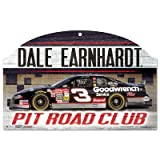 WinCraft NASCAR Dale Earnhardt 78385012 Wood Sign, 11'' x 17'', Black