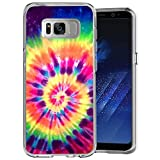POKABOO Samsung Galaxy S8 Case, Personalized Colorful Skull Anti-Scratch Shock Absorption Slim Fit Clear Case for Samsung Galaxy S8