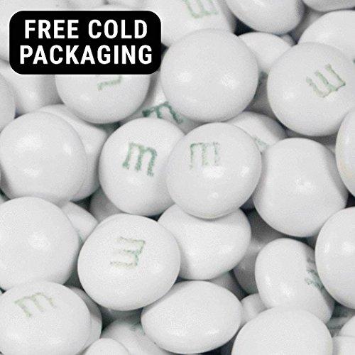 2 lbs M&M's Milk Chocolate Candies (White) -