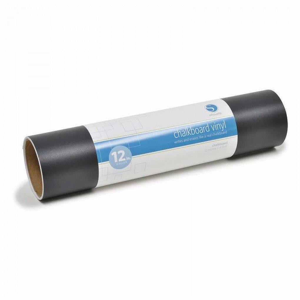 Silhouette Vinile adesivo LAVAGNA (per gessi) - colore NERO - 30 cm x 1, 2 m