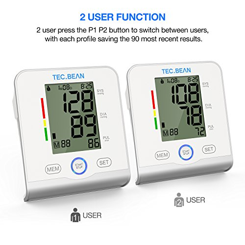 TEC.BEAN BP Monitoring System for Upper Arm