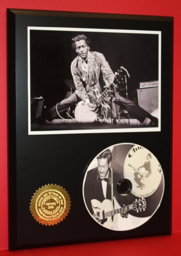 Chuck Berry Memorabilia - Chuck Berry Limited Edition Picture Disc CD Rare Collectible Music Display