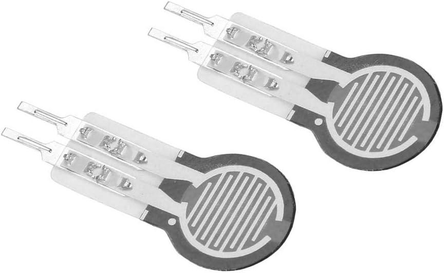 Zerone 2pcs Kraftsensor 20g ~ 2kg Hochpr/äziser Widerstands-D/ünnschicht-Drucksensor Kraftsensor