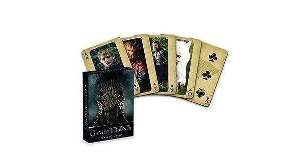 Amazon.com: Juego de cartas de Game Of Thrones : Cards: Toys ...