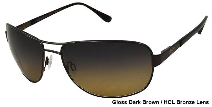362505926f8 Maui Jim Sand Island Polarized Sunglasses Gloss Dark Brown / HCL Bronze One  Size