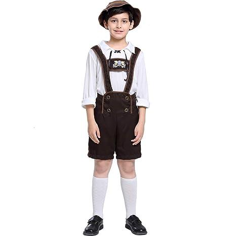 PIAOL Oktoberfest para Niños Juego De Disfraces De Halloween ...
