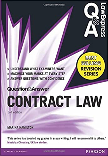 law express question and answer contract law q a revision guide  law express question and answer contract law q a revision guide law express questions answers amazon co uk ms marina hamilton 9781292066943 books