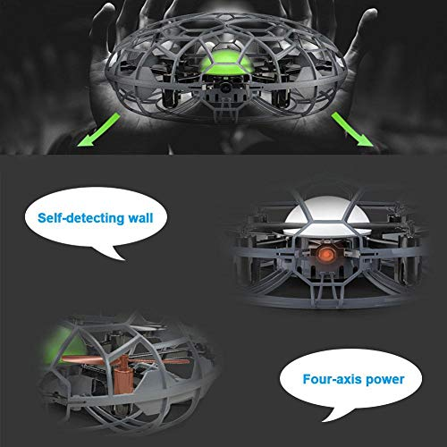 SueSupply Mini UFO Drone Toys, Hand-Controlled Quadcopter Aircraft,Suspension Aircraft with 360° for Kids, Toddlers Boys Girls by SueSupply (Image #7)