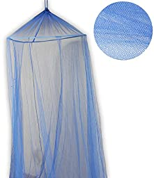 ToolUSA Polyster Blue Mosquito Net - 60x250x800cm: CAM-90619