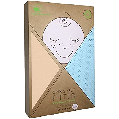 YourEcoFamily Cotton Fitted Crib Sheet - Parent