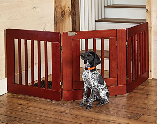 Orvis Three-panel Gate With Door / 36''h Gate, , by Orvis