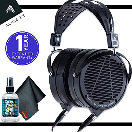 Audeze LCD-X - Music Creator Special - Planar Magnetic Headphones (Lambskin Leather) with 6ave Cleaning Kit and 1-Year Extended Warranty
