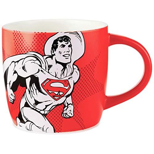 Superman Coffee Is My Kryptonite Mug, 16 oz. Mugs & Teacups Superheroes,Movies & TV
