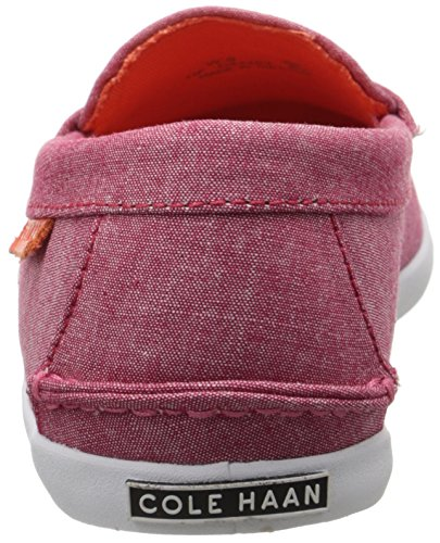 Cole Haan Womens Nypa Weeke Öre Loafer Rosa Chambray