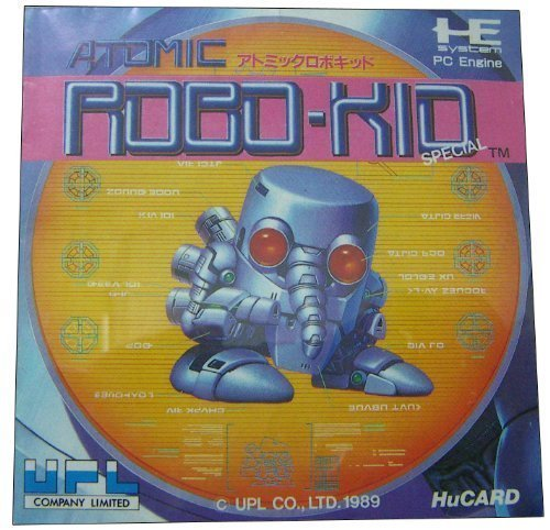 ATOMIC ROBO-KID [PC-ENGINE Japanese Import]