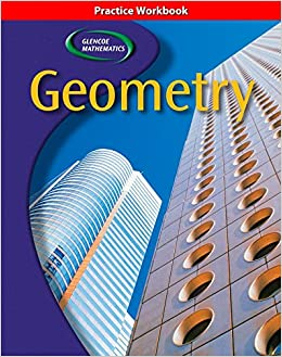 Printables Glencoe Geometry Worksheet Answers amazon com glencoe geometry practice workbook concepts applic