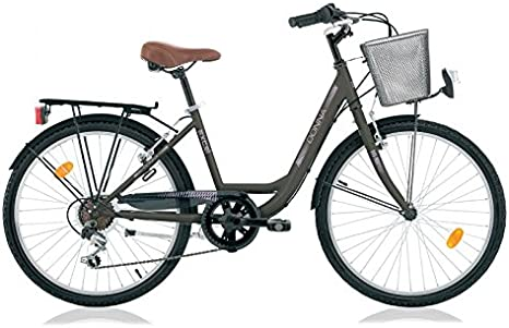 60,96 cm para mujer niños City bicicleta de paseo bicicleta para ...