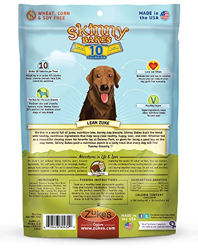 Zukes-Skinny-Bakes-Dog-Treats-Peanut-Butter-and-Banana-10-Calories-12-Ounce