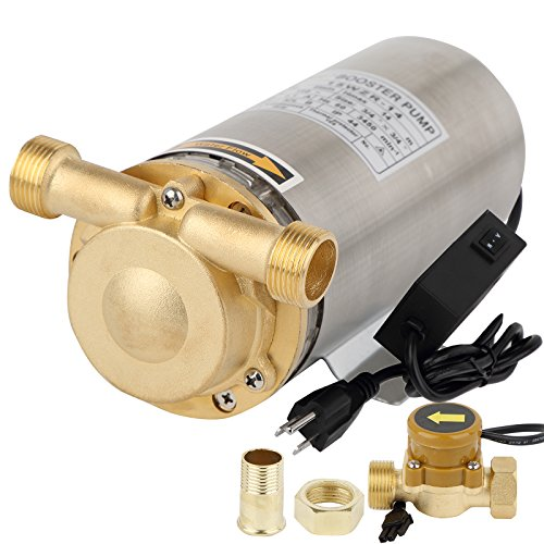 Pressure Booster Systems : Bokywox w water pressure booster pump stainless steel