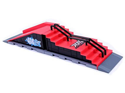Amazon.com: Adanina Skate Park Kit Rampa Piezas para Tech ...