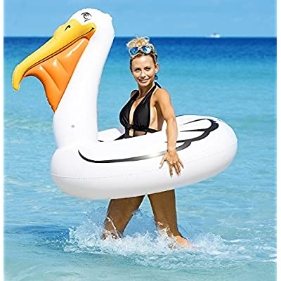 Kangaroo Pool Floats; Jumbo Pelican Inner Tube, 5 Ft.: Toys & Games
