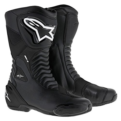 Alpinestars SMX-S Performance Riding Mens Motorcycle Boots - Black - 41 703oHs4BDx