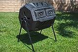 MaxWorks 80699 Garden Compost Bin Tumbler, 42