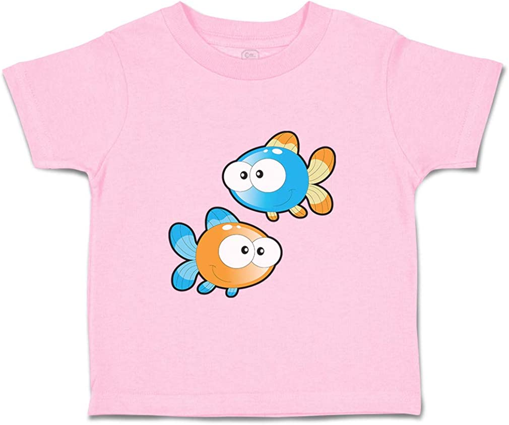 Custom Baby /& Toddler T-Shirt Pisces Sign Funny Cotton Boy Girl Clothes