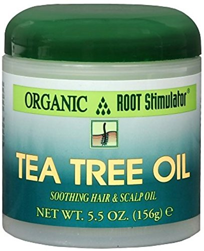 Namaste Organic Root Stimulator (Organic Root Stimulator Tea Tree Hair and Scalp Oil, 5.5 oz)