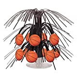 Beistle Basketball Mini Cascade Centerpiece, 7½-Inch
