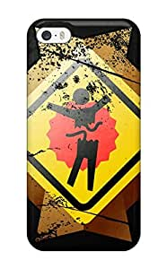 Premium Graphic Art Back Cover Snap On Case For Iphone 5/5s