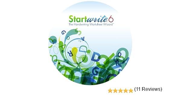 Amazon.com: StartWrite 6.0 Handwriting Worksheet Software (Windows)