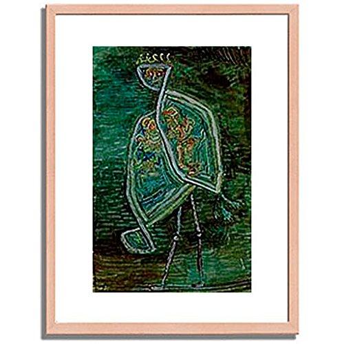 パウルクレー 「Phoenix coniugalis. 1932. 」 インテリア アート 絵画 壁掛け アートポスターフレーム:木製(白木) サイズ:S(221mm X 272mm) B00MSW9NV0 1.S (221mm X 272mm)|2.フレーム:木製(白木) 2.フレーム:木製(白木) 1.S (221mm X 272mm)