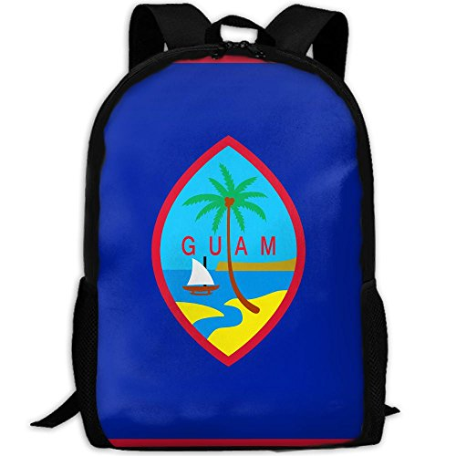 Guam Fashion Outdoor Shoulders Bag Durable Travel Camping Backpack For ()