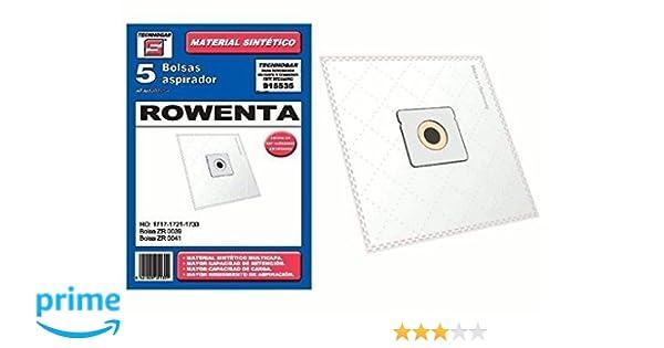 BOLSA ASPIRADOR SINTETICA CARREFOUR-MOULINEX-ORBEGOZO-ROWENTE- 915535 (Bolsa 5 unidades): Amazon.es: Hogar