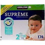 Kirkland Diapers - Size 2 - 174 ct